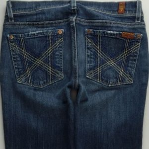 7 For All Mankind Crop Mia 27 Women's Jeans C024P